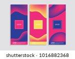 vertical abstract blur banner.... | Shutterstock .eps vector #1016882368