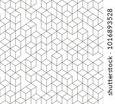 hexagonal geomteric pattern... | Shutterstock .eps vector #1016893528