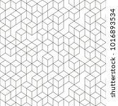 hexagonal geomteric pattern... | Shutterstock .eps vector #1016893534