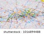dallas  united states map | Shutterstock . vector #1016894488
