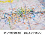 dallas  united states map | Shutterstock . vector #1016894500