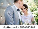 wedding. portrait of a... | Shutterstock . vector #1016905348