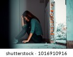 sexual abuse with a terrorist... | Shutterstock . vector #1016910916