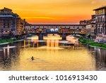 Sunset View Of Ponte Vecchio...