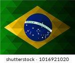 brasil flag vector illustration....