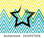 star vector design on a color... | Shutterstock .eps vector #1016927656
