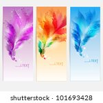 abstract vector background with ... | Shutterstock .eps vector #101693428