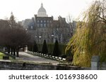 view from the bridge pont saint ... | Shutterstock . vector #1016938600