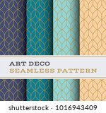 Art Deco Seamless Pattern With...