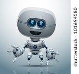 vector robot 6 | Shutterstock .eps vector #101694580