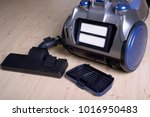 clean air filter in the back of ... | Shutterstock . vector #1016950483