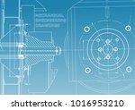 technical illustration.... | Shutterstock .eps vector #1016953210