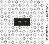 modern seamless pattern.... | Shutterstock .eps vector #1016959540