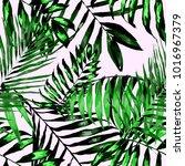 watercolor seamless pattern...   Shutterstock .eps vector #1016967379