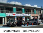 grand cayman  cayman islands  ... | Shutterstock . vector #1016981620