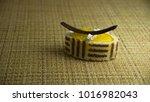 cream dessert cake with... | Shutterstock . vector #1016982043