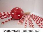 maracas is a wooden shake... | Shutterstock . vector #1017000460