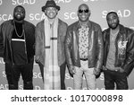 Small photo of Cast of Unsolved BIGGIE & TUPAC Murders attended the 6th annual SCAD aTV Fest 2018 in Atlanta, Georgia - USA at the Four Season Hotel Atlanta on February 2nd, 2018