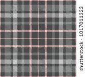 plaid check pattern in shades... | Shutterstock .eps vector #1017011323
