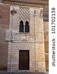 Royal Convent of Santa Clara of Tordesillas - stock photo