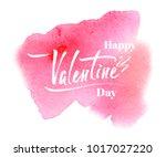 happy valentine's day ... | Shutterstock .eps vector #1017027220