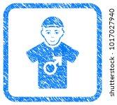 male rubber stamp imitation.... | Shutterstock .eps vector #1017027940