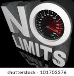 The Words No Limits With A...