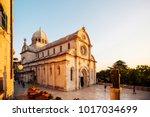 sibenik  croatia   september 28 ... | Shutterstock . vector #1017034699