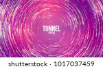 circular geometric vector... | Shutterstock .eps vector #1017037459