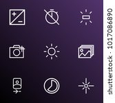 image icons line style set with ...   Shutterstock .eps vector #1017086890