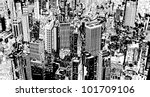 illustration of an aerial view...   Shutterstock .eps vector #101709106