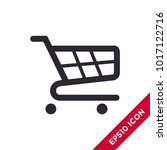 shopping cart icon. trolley...