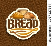vector logo for bread | Shutterstock .eps vector #1017127954