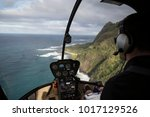 Above Napail Coast   Hawaii  ...