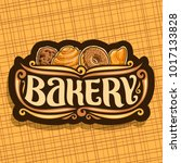 vector logo for bakery | Shutterstock .eps vector #1017133828