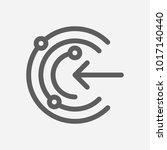 proactive icon line symbol....