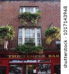 dublin  ireland   9 14 2016 ... | Shutterstock . vector #1017143968