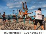 new york  usa   sep 22  2017 ... | Shutterstock . vector #1017146164