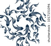 Japanese Seamless Pattern With...