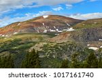 view from hoosier pass  located ... | Shutterstock . vector #1017161740
