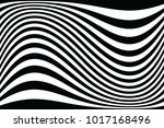 abstract wavy lines background. ... | Shutterstock .eps vector #1017168496