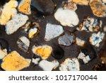 thin section of desert sand...   Shutterstock . vector #1017170044
