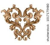 classical baroque vector of... | Shutterstock .eps vector #1017175480