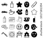clipart icons set of 25
