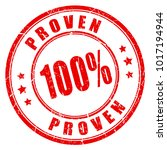 proven results vector stamp... | Shutterstock .eps vector #1017194944