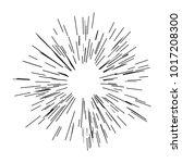sun burst  star burst sunshine...   Shutterstock .eps vector #1017208300