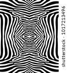 seamless zebra pattern in black ... | Shutterstock .eps vector #1017213496