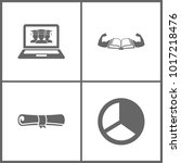 vector illustration set office...   Shutterstock .eps vector #1017218476