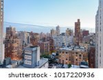 new york city  usa. amazing... | Shutterstock . vector #1017220936