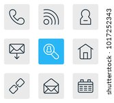 illustration of 9 community...   Shutterstock . vector #1017252343